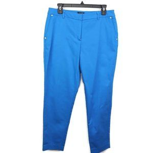 Jones New York Womens Grace Ankle Pants Aegean Blu
